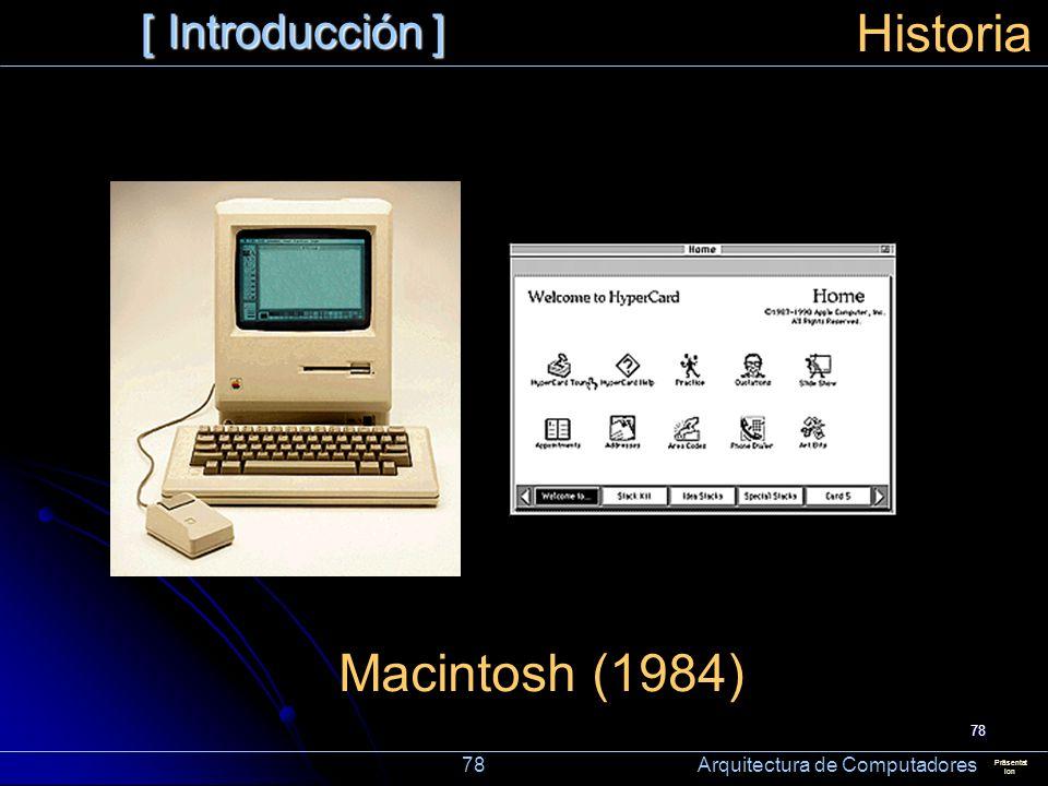 Historia Macintosh (1984) [ Introducción ]